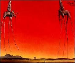 Ce tableau de Dali, si on ne tient pas compte du ciel du feu, fait penser au film ?