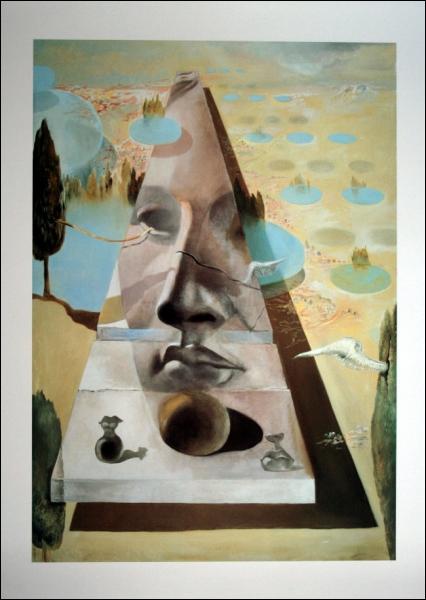 Apparition de Salvador Dali est un tableau qui nous met en mémoire le film d'aventures... ?