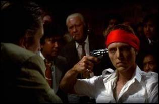 Film réalisé par Michael Cimino (1978) avec Robert De Niro, John Cazale, John Savage, Meryl Streep et Christopher Walken. Toile de fond : la guerre du Vietnam.