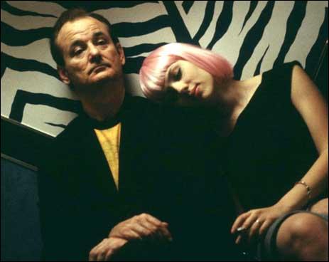Film de Sofia Coppola ( 2003) avec Bill Murray et Scarlett Johansson qui, le temps d'un bref séjour à Tokyo, unissent leurs deux solitudes (en tout bien tout honneur ... )