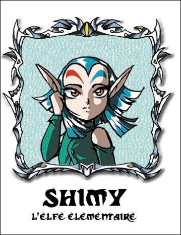De qui Shimy est-elle tombée amoureuse ?