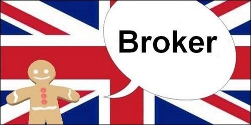 """Un peu d'anglais pour finir, que signifie le mot """"broker"""" ?"""