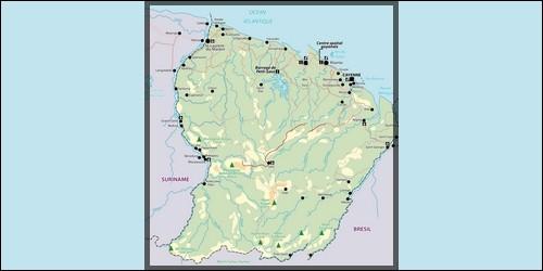 La Guyane française se situe en Afrique.