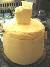 Le beurre d'été est plus pâle ?