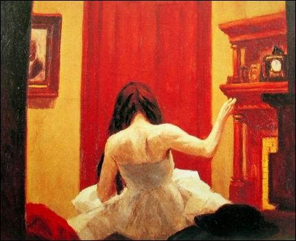 Ne trouvez-vous qu'il y a un lien certain entre cette oeuvre de Hopper et le film ?