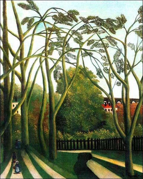Le Douanier Rousseau a peint ce Printemps dans la vallée de Bièvre, mais regardez ces arbres, ne font-ils pas penser au film ?