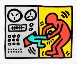 Ce tableau de Keith Haring rappelle assez bien le film ?
