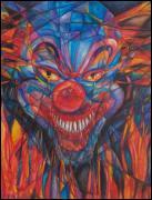 Beth Okonczak a peint cette Ode à la folie, qui rappelle singulièrement bien le téléfilm ?