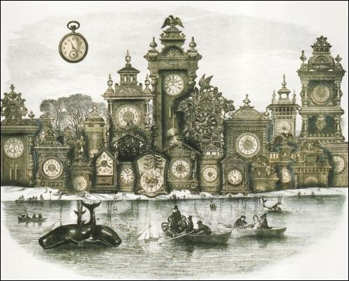 Ce tableau s'intitule The City of the lost time (La ville du temps perdu) et a été peint par Adolf Hoffmeister, mais il peut évoquer singulièrement bien le film ?