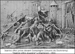 Jeanne d'Arc alla, de son propre chef, prêter main forte à une ville assiégée et elle y sera capturée. Quelle est cette ville ?
