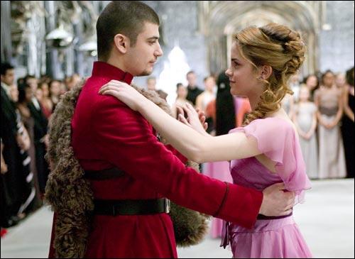 Viktor et Hermione...