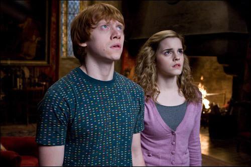 Hermione et Ron...