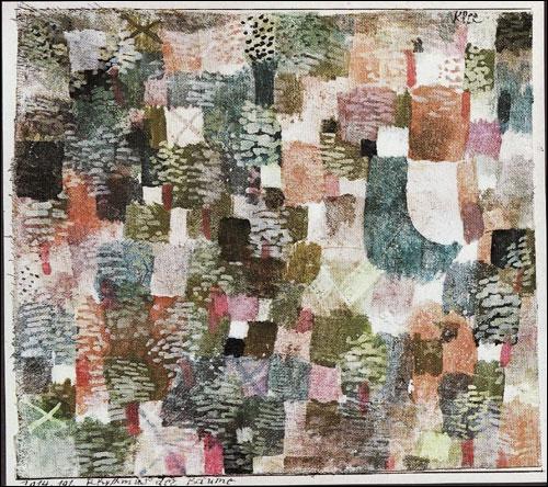 Qui a peint Rythme des arbres ?