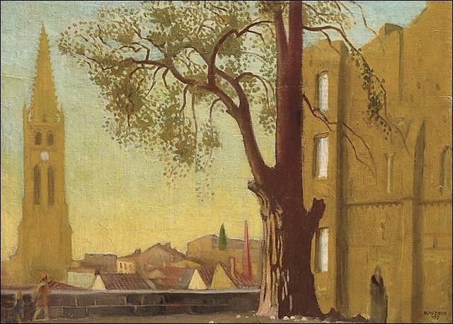 Qui a peint Le grand arbre ?