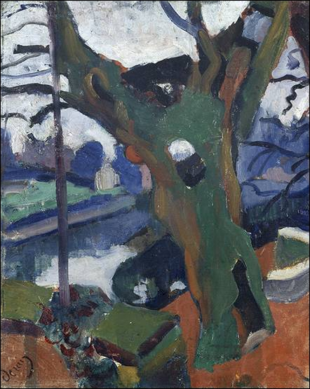 Qui a peint Le vieil arbre ?