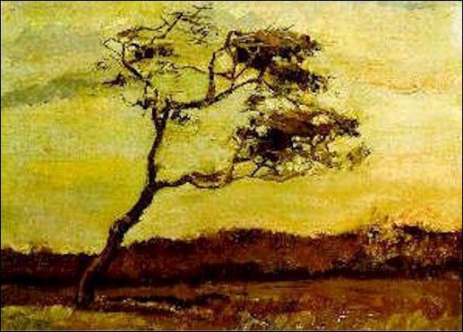 Qui a peint Arbre au vent battu ?