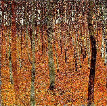 Qui a peint Bois de hêtres ?