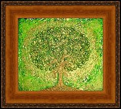 Qui a peint L'arbre vert ?