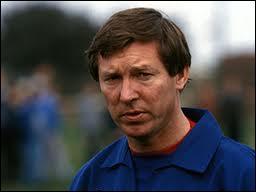 En 2011, combien d'années à la tête de Manchester United Sir Alex Ferguson a-t-il fêtées ?
