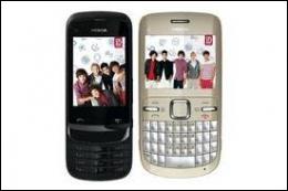 Le groupe a lancé également ses propres modèles de téléphone portables en édition limitée. De quelle marque sont-ils ?