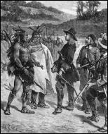 Quel territoire l'explorateur et aventurier Cavelier de la Salle prend-il possession au nom du roi de France en 1682 ?