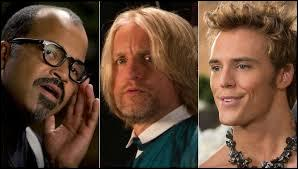 Elle se retouve en compagnie de deux autres survivants des 75e Hunger Games. Lequel de ces noms ne correspond pas à celui de l'un de ces 2 survivants ?