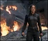 Lorsque Katniss se rend au district 8 afin d'unifier les districts contre le Capitole, un bâtiment est bombardé. Quelle a été la cible principale de l'aviation du président Snow ?