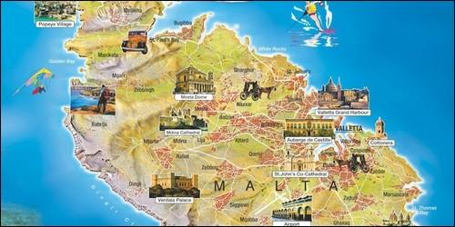 Sur quel continent se trouve Malte ?