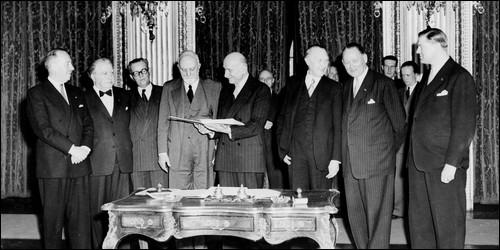 La CECA a été créée le 23 juillet 1952. Mais quand a-t-il vu le jour pour la prémière fois ?