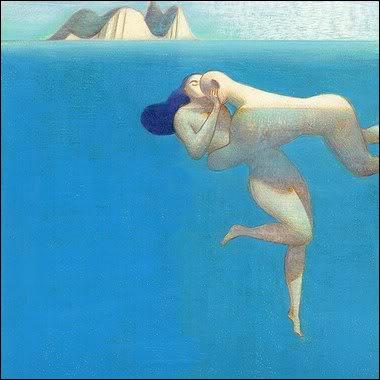 Cette peinture de Lorenzo Mattoti évoque facilement le film... ?