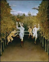 Certes il faut avoir un peu d'imagination, mais ces joueurs en plein air peints par le Douanier Rousseau ne vous font-ils pas penser à... ?