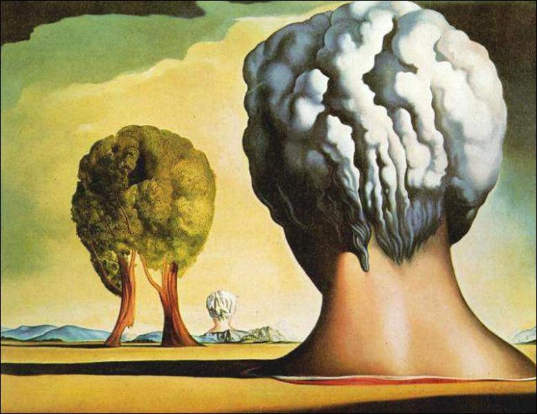 Les trois sphinx de Bikini est un tableau de Salvador Dali, qui pourrait illustrer le film... ?