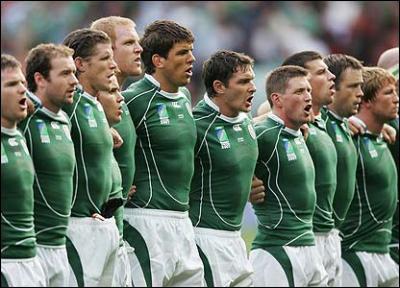 Quel est l'emblème du 15 d'Irlande ?