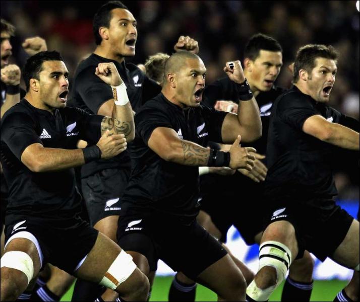 Que fait l'équipe de Nouvelle-Zélande à chaque début de match ?