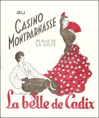 Une des premières opérettes à succès de l'après-guerre fut 'La Belle de Cadix'. Qui en était l'interprète principal lors de sa création, avant de reprendre le rôle au cinéma ?