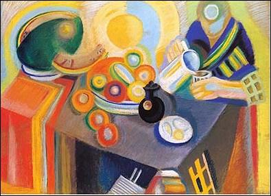 Membre du Groupe de Puteaux 'La section d'or', fondateur du cubisme orphique, il a peint 'La verseuse' en 1916 :