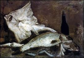 Ce peintre figuratif français (1928-1999) réalisa 'Nature morte aux poissons' :
