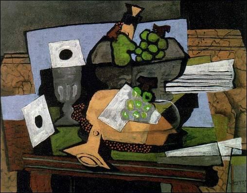 L'un des fondateurs du cubisme, il a peint cette 'Nature morte à la clarinette' :