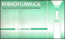 Pour quel traitement le Rhinofluimucil est-il prescrit ?
