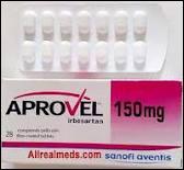 Quelle est l'action pharmacologique de l'Aprovel (Irbésartan) ?