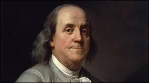 Quel inventeur et homme d'Etat américain se rend à Paris afin de solliciter l'aide de la France ?