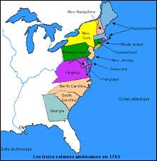 Les mesures sont d'autant mal perçues que les colons ne sont pas représentés au Parlement britannique. De combien de colonies se composaient les territoires de sa Majesté britannique en Amérique du Nord ?