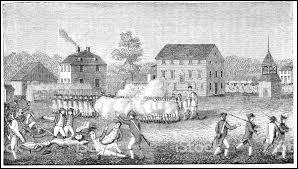 En 1775 dans quelle ville a lieu l'escarmouche qui marque le début des hostilités de la guerre d'indépendance ?