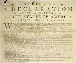 Les représentants adoptent à l'unanimité la Déclaration d'indépendance des Etats-Unis. Qui en est le principal rédacteur ?