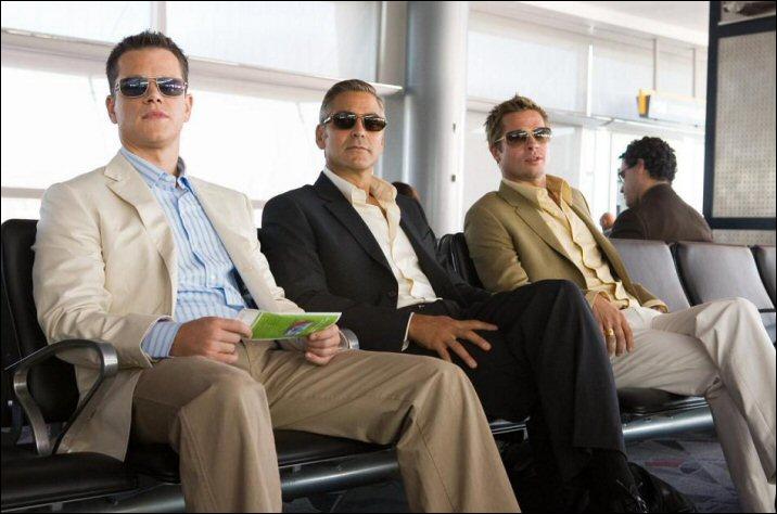 Quel est ce film avec George Clooney, Brad Pitt et Matt Damon ?