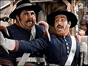 Comment s'appellent le sergent et le caporal, les seuls qu'on connaisse vraiment ? (par contre l'orthographe ... . )