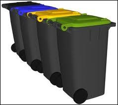Dans quelle poubelle doit-on jeter les papiers, les journaux et les prospectus ?
