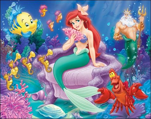 Qui est cette princesse qui quitte la mer pour son prince bien-aimé ?
