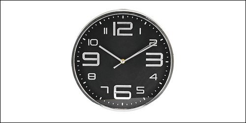 Sur une horloge, quelle aiguille indique l'heure ?