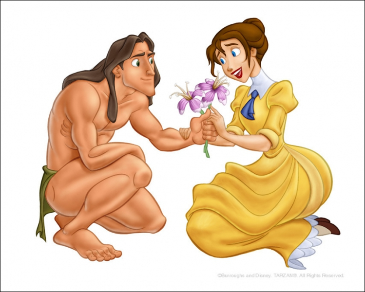 Qui est ce couple qui se balance avec des lianes ?